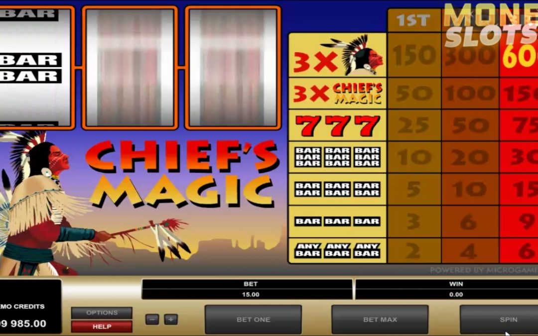 Find the Magical Moments with Chiefs Magical Casino Game